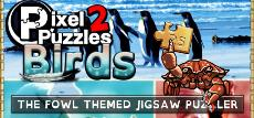 Pixel Puzzles 2: Birds, gift for a cheap price on box Master Games